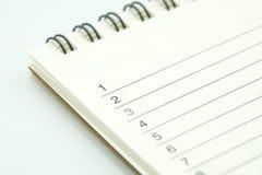 Książkowy Rankingslist używać jako tła biznesowy pojęcie, planowania pojęcie z kopii przestrzeniami dla i twój projekta lub tekst Obraz Stock