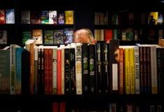 Książkowy sklep w Manhattan Obrazy Royalty Free