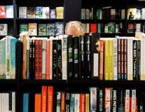 Książkowy sklep w Manhattan Obraz Stock