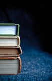 Książkowy stos Fotografia Stock