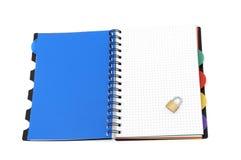 książkowy tło biel Obraz Royalty Free