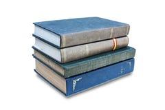 książkowy tło biel Zdjęcia Stock