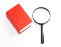 książkowy target192_0_ szkła Obrazy Stock