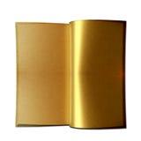 książkowy złoty Fotografia Stock