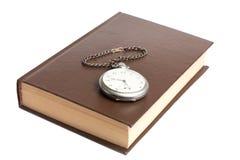 książkowy zegarek Zdjęcie Stock