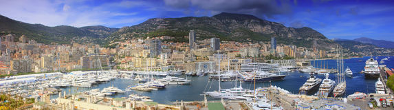 Ksiąstewko Monaco Fotografia Royalty Free