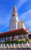 Księża May 13th świętowania Maryjna bazylika dama Różańcowy Fatima Portugalia zdjęcia royalty free