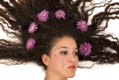 księżniczka kwiatów Obraz Royalty Free