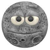 księżyc royalty ilustracja