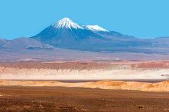 Księżyc dolina, Atacama, Chile Zdjęcie Stock