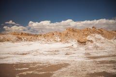 Księżyc dolina w Atacama Zdjęcie Royalty Free