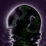 Księżyc electro abstrakcja Zdjęcie Royalty Free