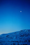 księżyc góry Obrazy Stock