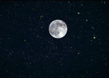 Księżyc Gra główna rolę Złożonego Obrazy Stock