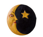 księżyc gwiazda Zdjęcia Royalty Free