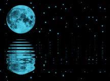 księżyc gwiazdy Royalty Ilustracja