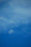 Księżyc i chmury Zdjęcia Stock