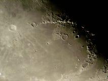 księżyc jest na powierzchni Fotografia Royalty Free