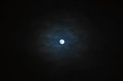 księżyc noc Zdjęcie Stock