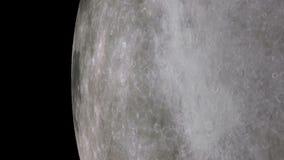 księżyc orbita ilustracja wektor