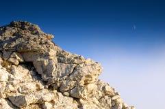 księżyc skała Obraz Royalty Free