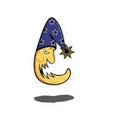 księżyc straszna Obraz Royalty Free