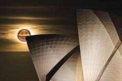 Księżyc Sy op porada Zdjęcie Royalty Free