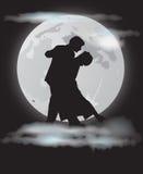 księżyc tango Obraz Royalty Free