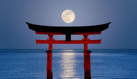 księżyc tori Zdjęcie Royalty Free