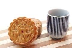 księżyc tortowa herbata Obraz Stock