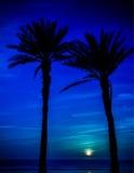 Księżyc w Agadir, Maroko Obrazy Stock