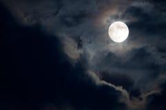 księżyc w pełni Zdjęcia Royalty Free