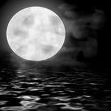 księżyc w pełni Obrazy Royalty Free