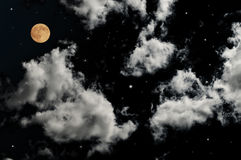 księżyc w pełni Fotografia Royalty Free