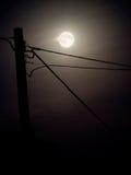 Księżyc w pełni nieba tło Zdjęcia Stock