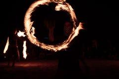 Księżyc w pełni ogień Zdjęcie Stock