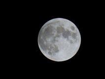 Księżyc w pełni przed zaćmieniem Zdjęcie Royalty Free