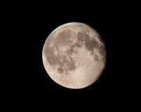 Księżyc W Pełni szczegół Zdjęcie Stock
