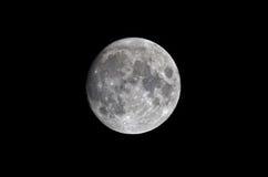 Księżyc w pełni w Styczniu 4th, Europe Fotografia Royalty Free