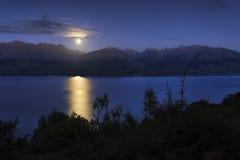 Księżyc wydźwignięcie Obrazy Royalty Free