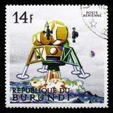 Księżycowy moduł, eksploracja przestrzeni seria około 1968, obrazy royalty free