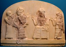 Księdza królewiątko Lagash zdjęcie stock