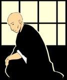 księdza shinto ilustracja wektor