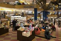 Księgarnia w avenida Paulista Brasil, San - Paolo - zdjęcie royalty free