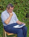 księgowość rolnik zdjęcie stock