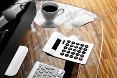 księgowości biznesowy pojęcia biurka biuro Obrazy Stock