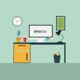 księgowości biznesowy pojęcia biurka biuro Zdjęcie Royalty Free
