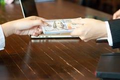 Księgowy i pieniężny biznesowy pieniądze zdjęcie royalty free