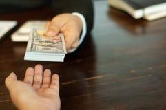 Księgowy i pieniężny biznesowy pieniądze obrazy royalty free