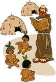 ksiądz hindusa Ilustracji